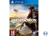 PS4 Game Ghost recon