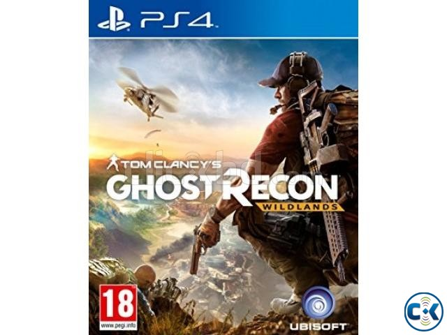 PS4 Game Ghost recon  | ClickBD large image 0