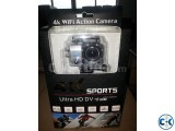 4K Action Cam with Wi-Fi and an IP68 Case