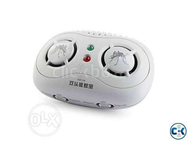 Dual Channel Ultrasonic Mosquito Repeller AR116 | ClickBD large image 0