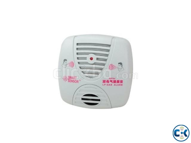 AR105 Smart Sensor LP Gas Alarm Gas Detector Home Safe | ClickBD large image 0