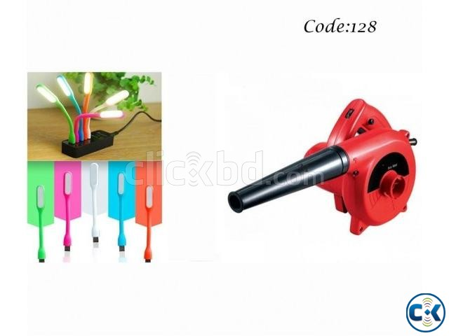 Combo Offer - Portable Hand Air Blower 600W USB Portable L | ClickBD large image 0