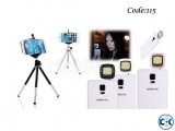 Combo Offer - Tripod Stand For Mobile Camera 1pc 16 LED S