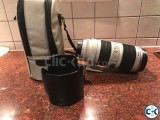 Canon EF 70-200 mm F 2.8 L II IS USM.