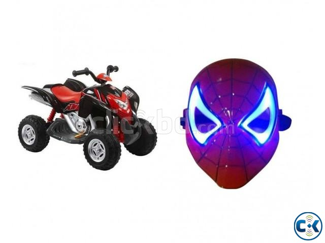 Combo Offer Beach Motorcycle for Kid s LED Mask | ClickBD large image 0