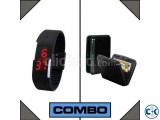 Combo of Sports LED Watch Card Holder