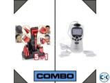 combo of Kemei Rechargeable Trimmer 5 In 1 Therapy Machine