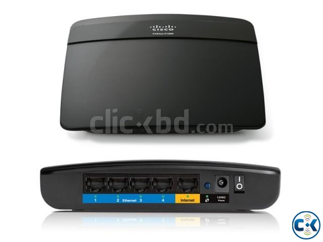Linksys E1200 N300 Wi-Fi Wireless Router | ClickBD