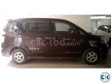 Toyota Voxy for monthly rent for official purpose.