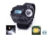 LED Wrist Watch Flashlight Torch