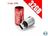 Exclusive Coca cola Pendrive 32GB Code 1301