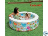 INTEX KIDS AQUARIUM ROUND POOL Code 605