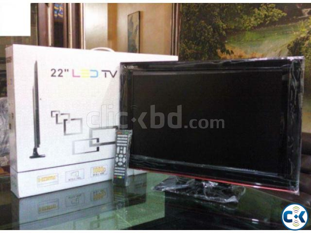 22 Inch Full HD LED Monitor Cum TV | ClickBD large image 0