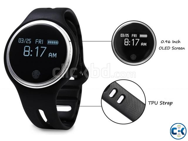 E07 Smart Band Waterproof Bluetooth Fitness Tracker intact | ClickBD large image 1