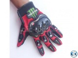 Monster-hand-gloves-full-finger-red