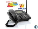 TDK Duel Sim GSM Phone Code 027