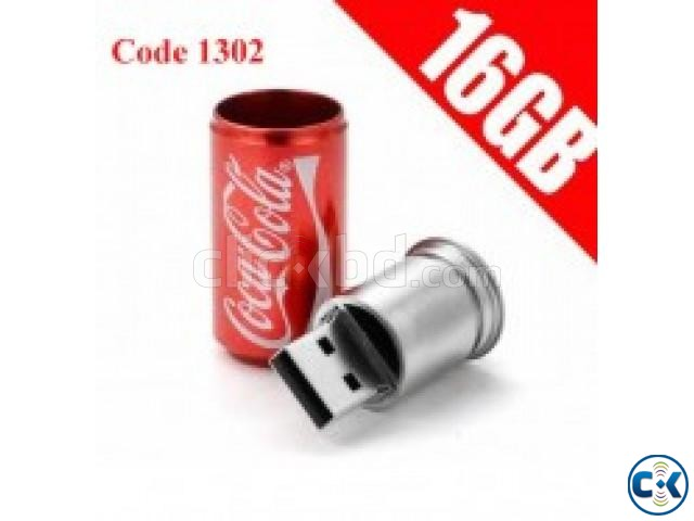 Exclusive Coca cola Pendrive 16Gb Code 1302 | ClickBD large image 0