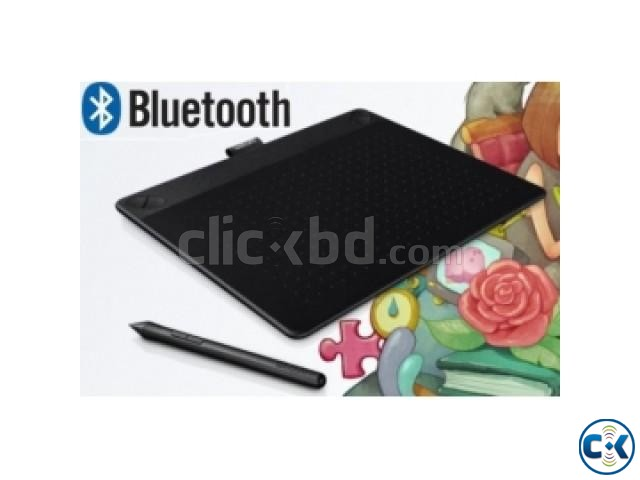 Wacom board Small Pen and Touch Tablet Model CTH-490 K1-CX | ClickBD large image 4