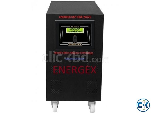 Energex Pure Sine Wave UPS IPS 5KVA 5yrs WARRENTY With Bat | ClickBD large image 0