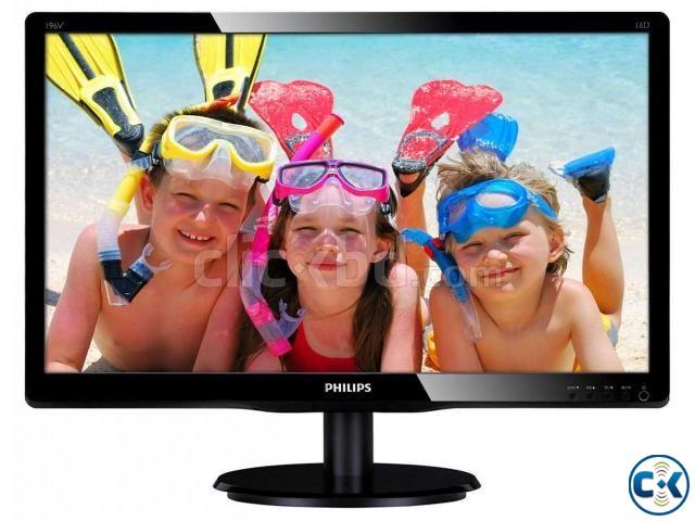 Philips 193V5L 19 LED MONITOR | ClickBD large image 0