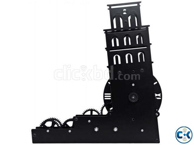 Gear Clock Leaning Tower of Pisa - HY-G117 intact | ClickBD large image 1