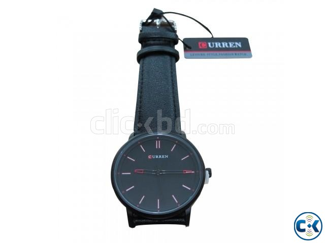 Original Curren Black Watch | ClickBD large image 0