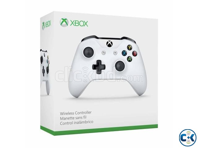 Official Xbox Wireless Controller White | ClickBD large image 0