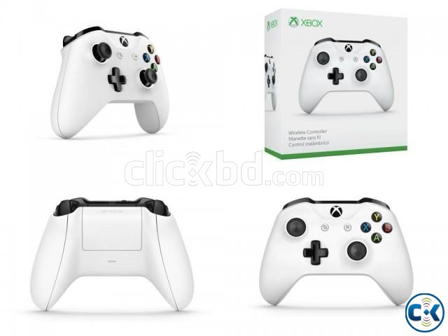 Official Xbox Wireless Controller White | ClickBD large image 1