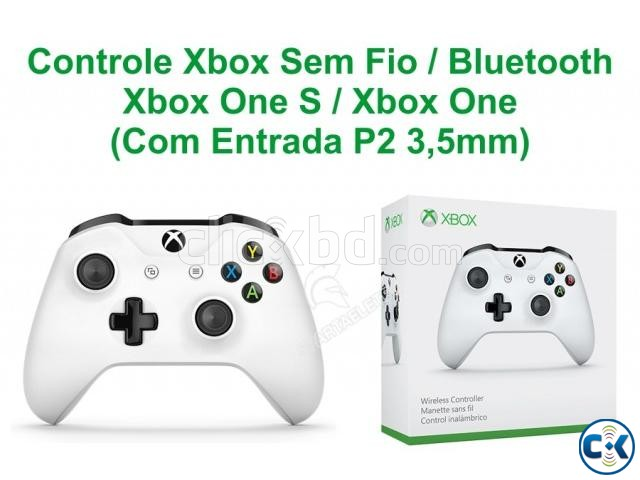 Official Xbox Wireless Controller White | ClickBD large image 2