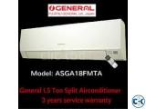 O General 1.5 Ton ASGA18FMTA Air Conditioner