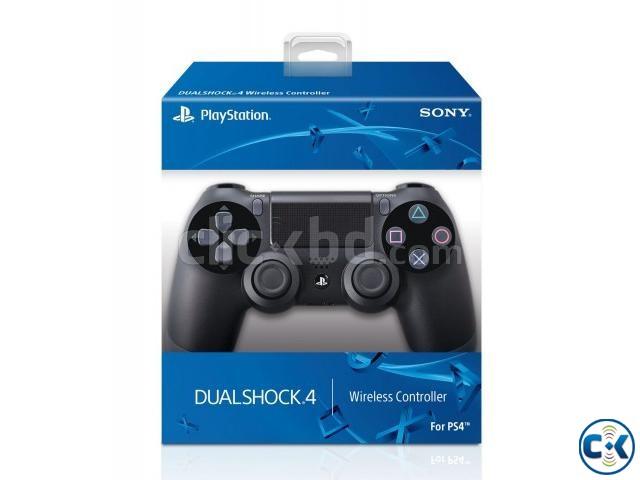 Sony PlaySation DualShock 4 Black | ClickBD large image 0