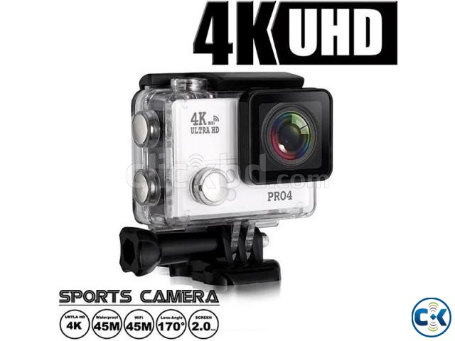 Pro4 WIFI Action Camera 4K 30FPS 2.0 LCD | ClickBD large image 1