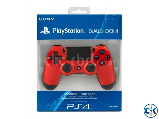 Sony PlaySation DualShock 4 Red Blue Colour | ClickBD large image 0