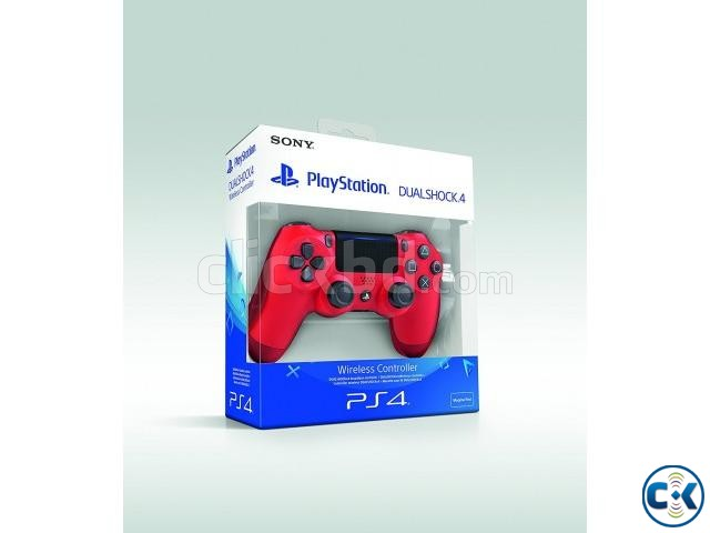Sony PlaySation DualShock 4 Red Blue Colour | ClickBD large image 1