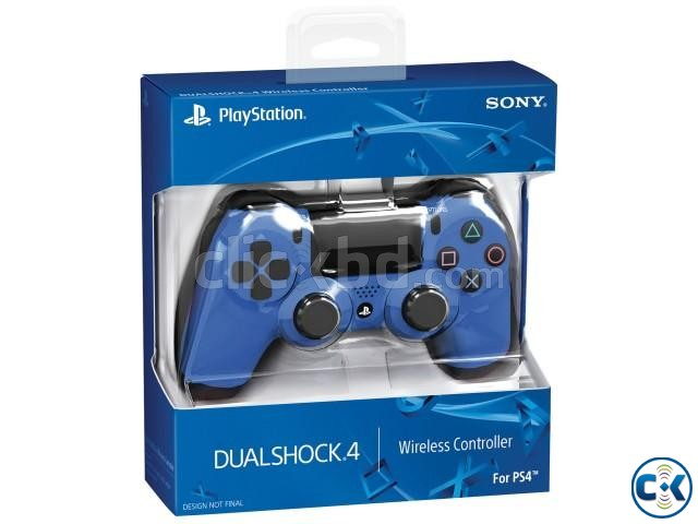 Sony PlaySation DualShock 4 Red Blue Colour | ClickBD large image 2
