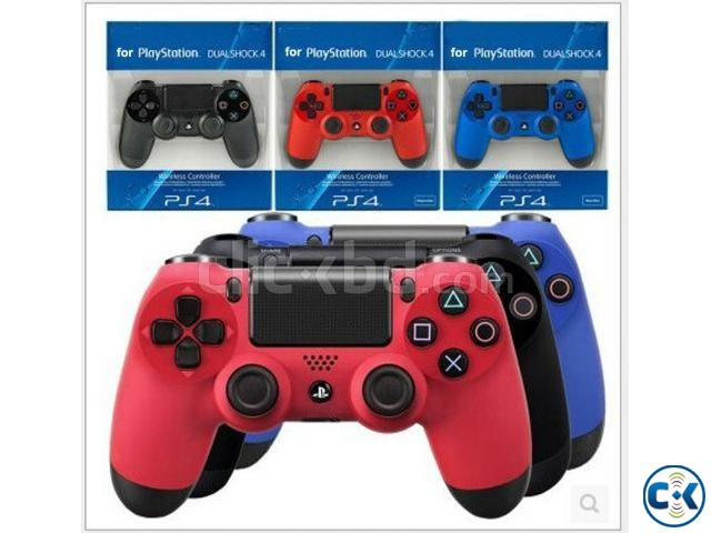 Sony PlaySation DualShock 4 Red Blue Colour | ClickBD large image 3