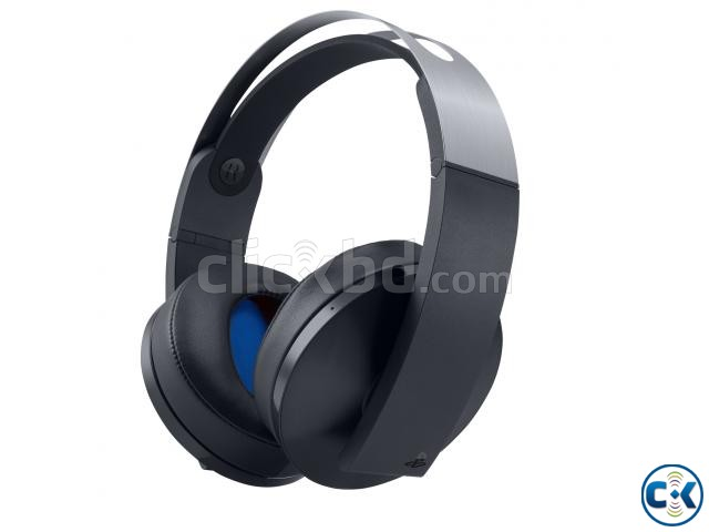 Sony PlayStation 4 Platinum Wireless Headset | ClickBD large image 1