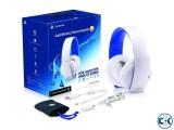 Sony PlayStation Wireless Stereo Gold Headset 2.0 - B W