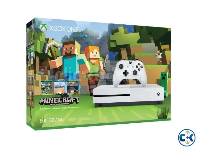 Xbox-one-S-500gb-Console-Minecraft-Bundle | ClickBD large image 0