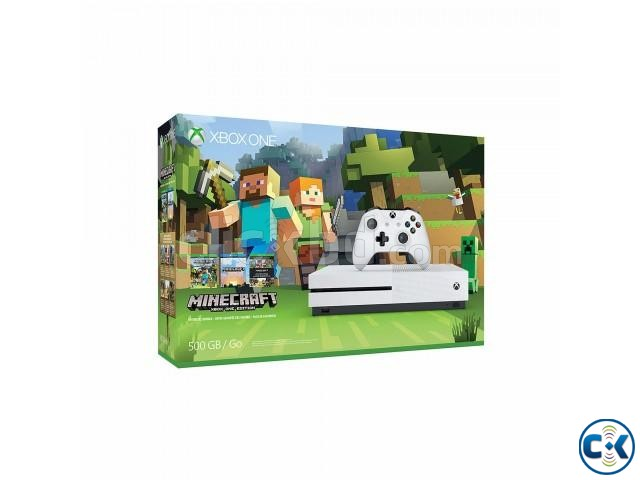 Xbox-one-S-500gb-Console-Minecraft-Bundle | ClickBD large image 1
