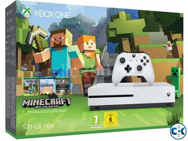 Xbox-one-S-500gb-Console-Minecraft-Bundle | ClickBD large image 2