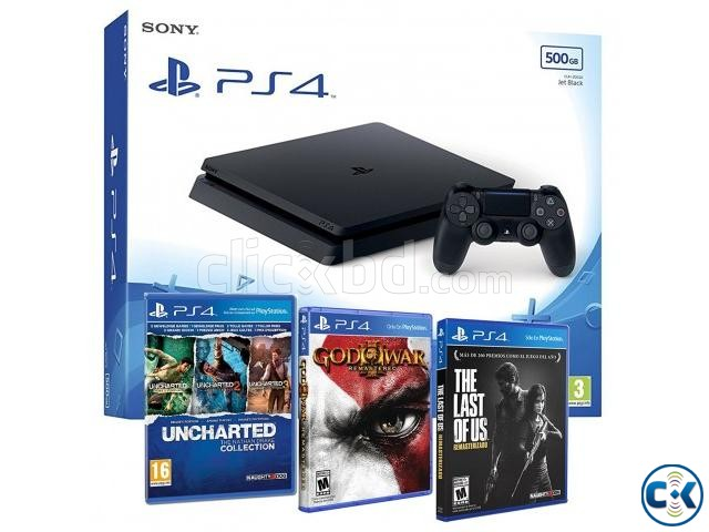 PlayStation 4 Slime 500GB | ClickBD large image 1