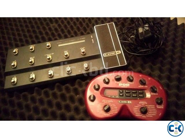 Line6 pod 2.0 with MK2 fbv board | ClickBD large image 0