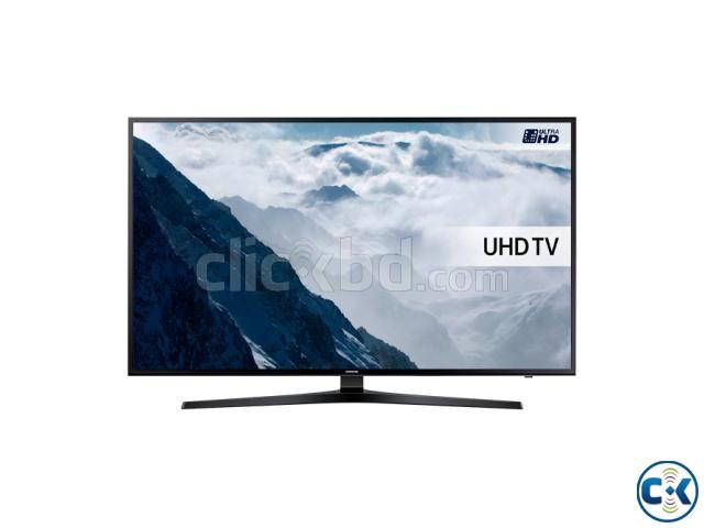 SAMSUNG 55 INCH KU6000 FLAT UHD 4K SMART TV | ClickBD