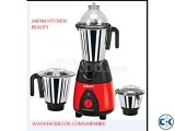 Jaipan Kitchen Beauty JKB-4001 750W 1HP Mixer Grinder