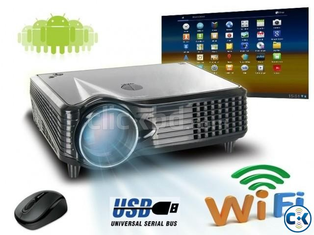 HD Wifi Projector | ClickBD large image 0