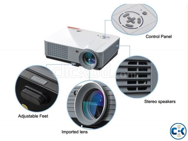 HD Wifi Projector | ClickBD large image 1