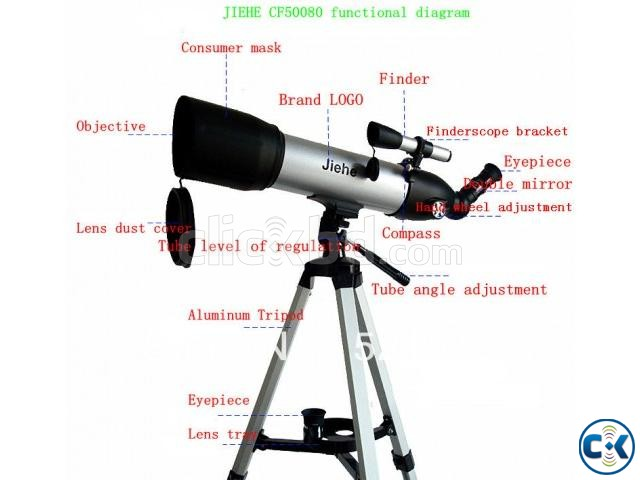 Hi-Quality Jiehe Astronomy Space Telescope | ClickBD large image 1