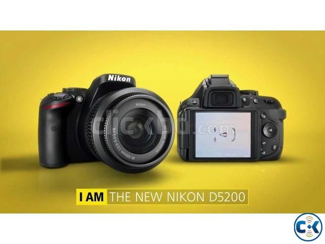 Nikon D5200 24 1mp 3 Inch Lcd 18 55mm Lens Dslr Camera Clickbd