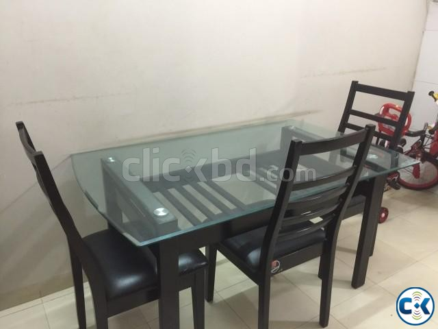 Otobi dianing table with chair | ClickBD large image 0